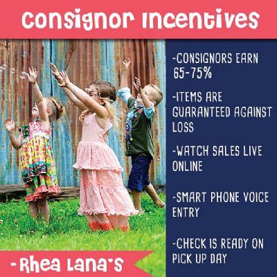Consignor Incentives